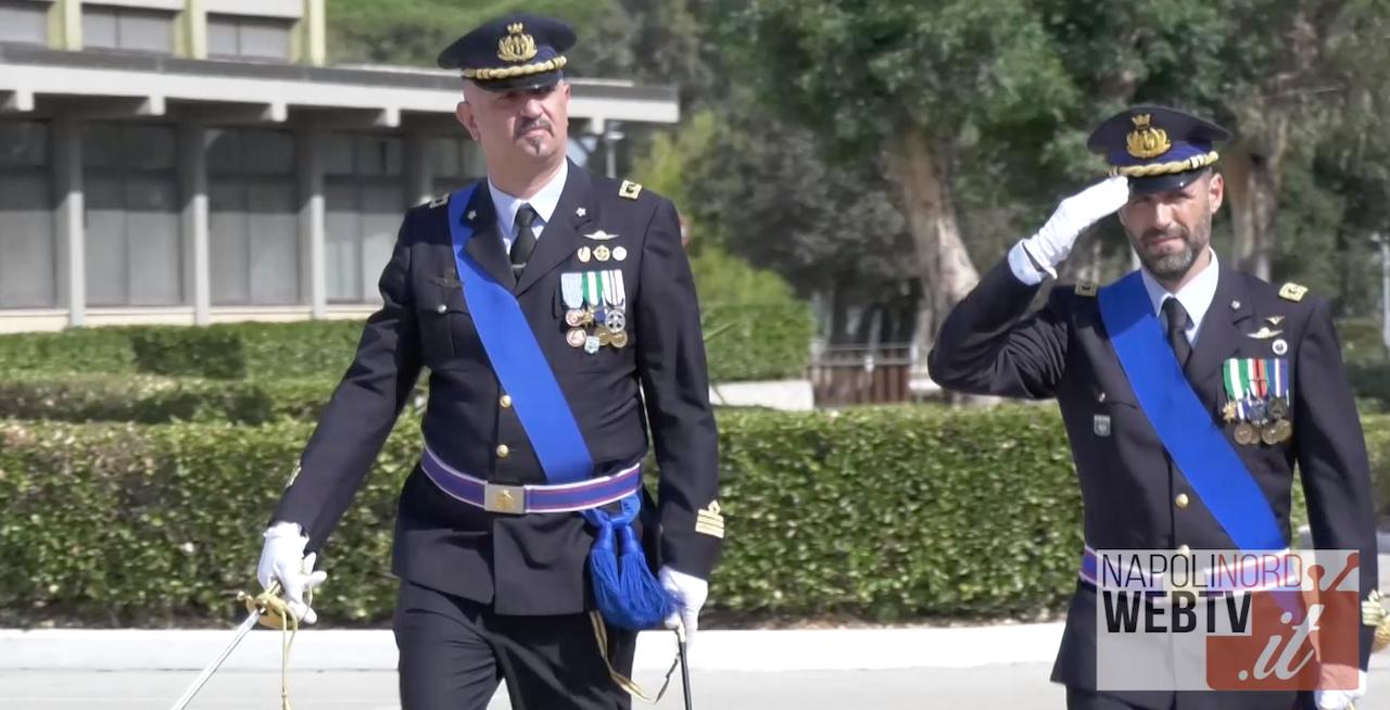 BASE AERONAUTICA DI LICOLA, CAMBIO AL VERTICE: TANCREDI SUBENTRA AD ABBATE. VIDEO