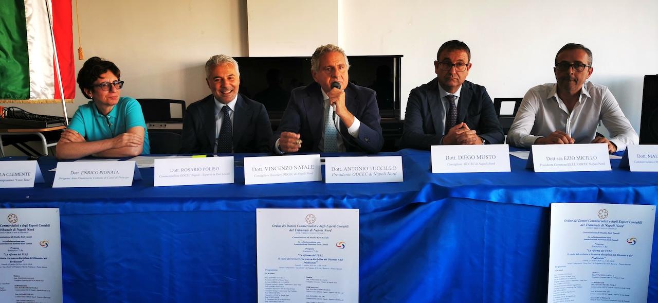 Dissesto finanziario negli Enti Locali, forum degli esperti dell'Odcec Napoli Nord. VIDEO