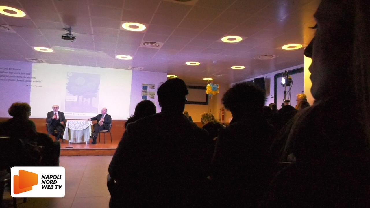 'La notte Nazionale del Liceo', al liceo classico Alfonso Maria de' Liguori di Acerra l'evento col rettore emerito della Federico II° di Napoli Trombetti. VIDEO