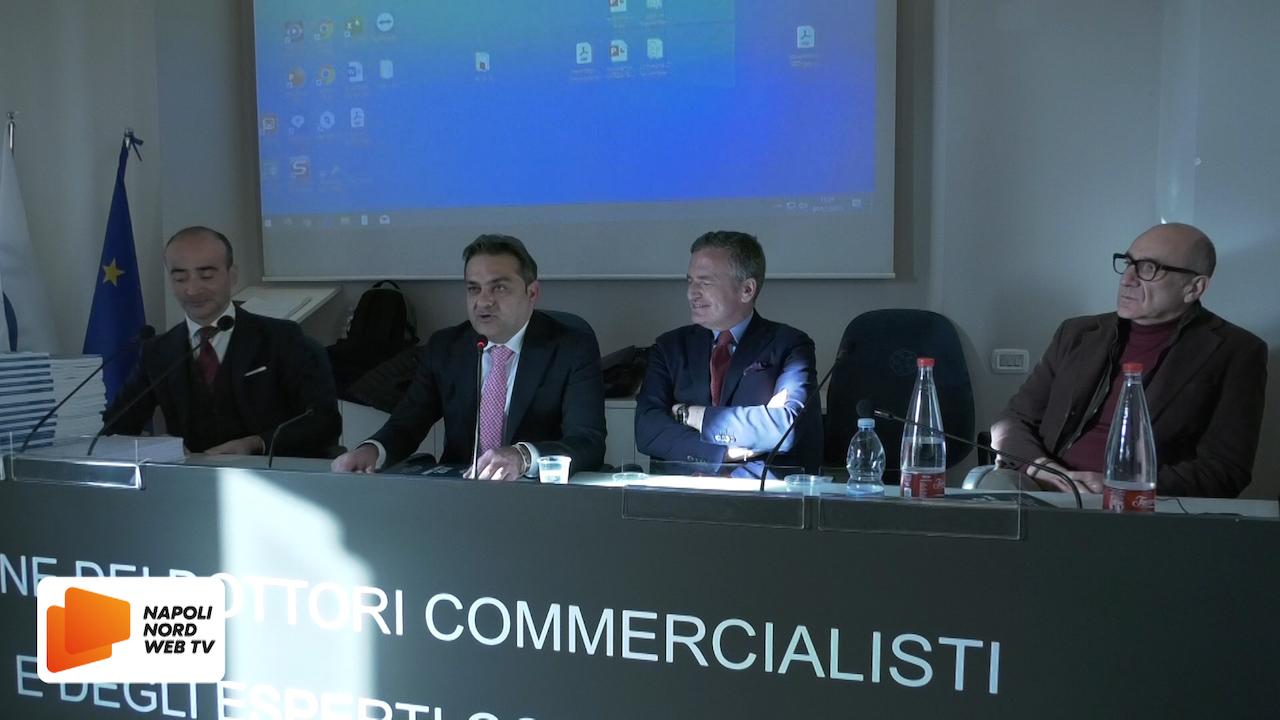 Crisi da sovraindebitamento, consegnati gli attestati all'Ordine dei Commercialisti di Napoli Nord. VIDEO