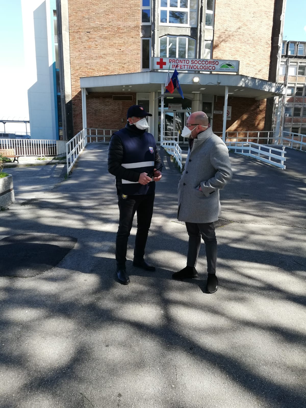 """Sicurezza all'ospedale Cotugno, il presidente della Union Security Iovinella: """"Siamo in prima linea per l'emergenza coronavirus"""""""