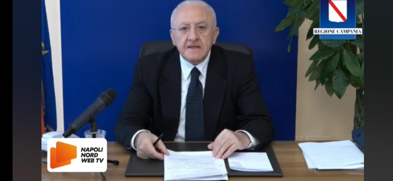 Aiuti economici dalla Regione Campania, ecco il piano economico del presidente Vincenzo De Luca. LEGGI