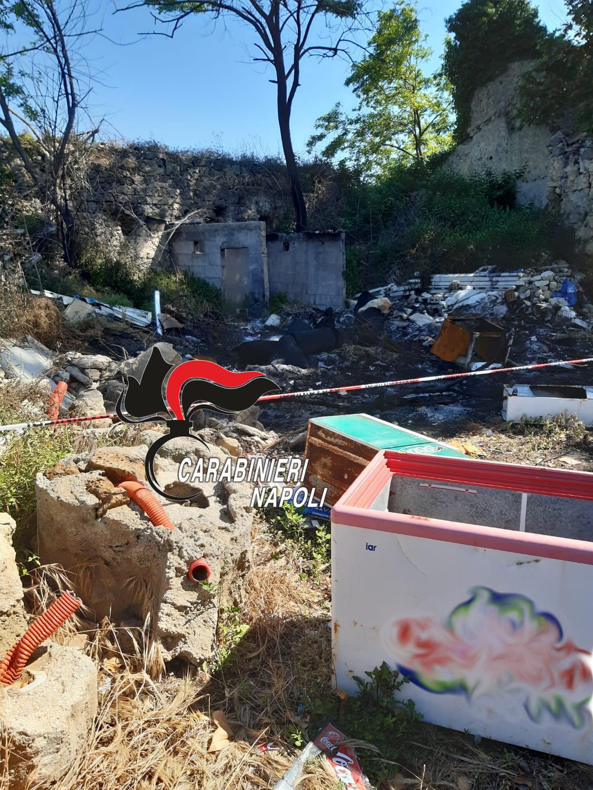 Discarica illegale di rifiuti, denunciato un 43enne VIDEO