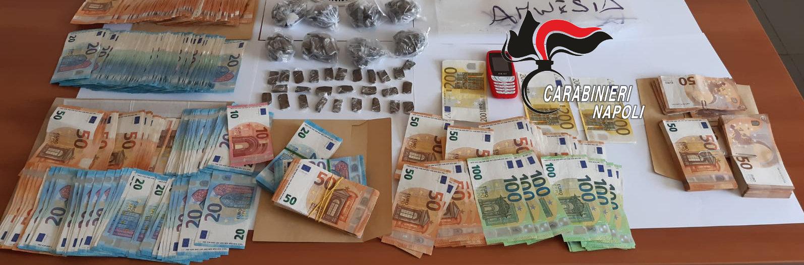 Melito, 2 arrestati per droga e 7 denunciati per ricettazione