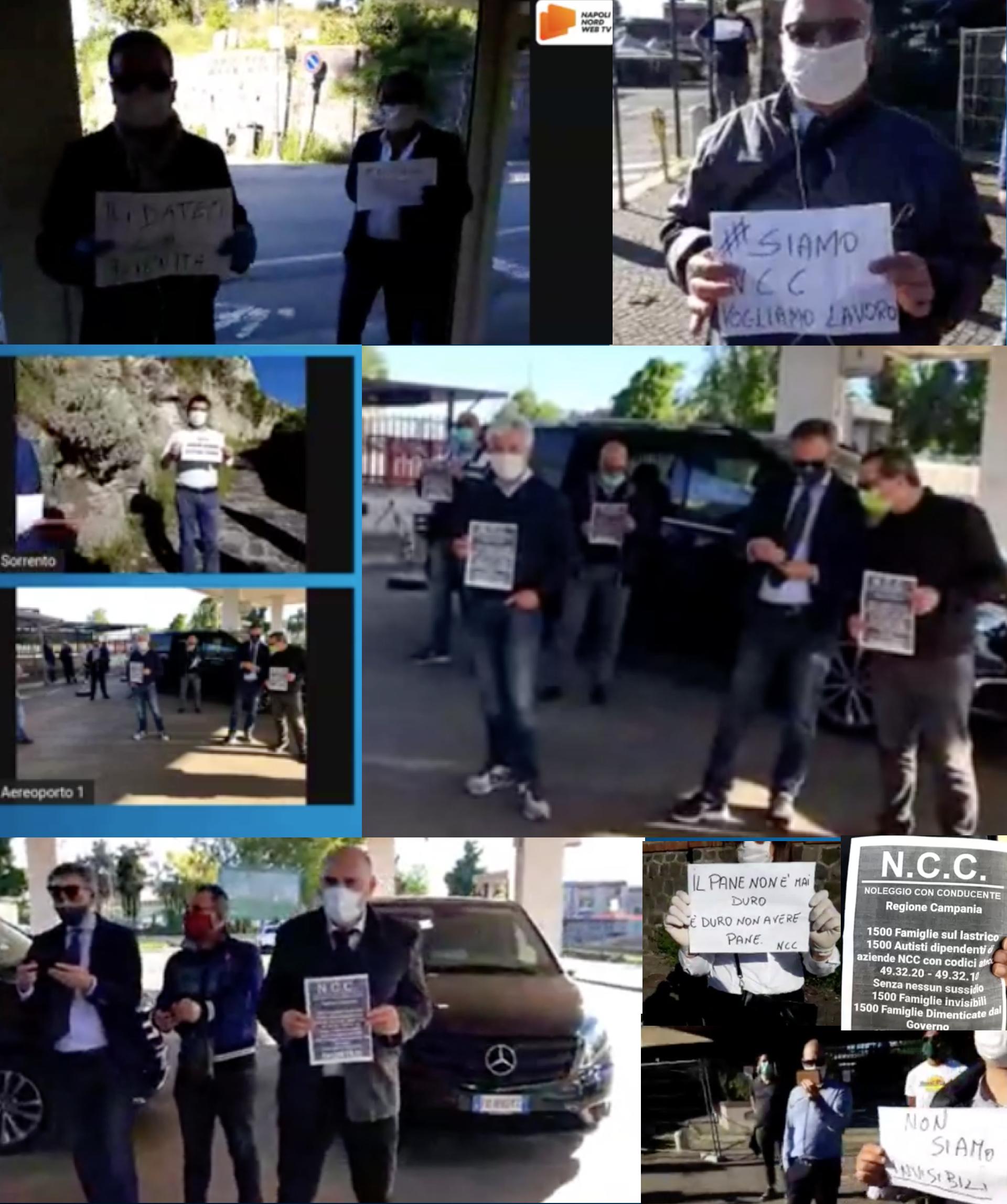 NCC Noleggio Con Conducente, la protesta parte da Napoli Nord Web Tv VIDEO