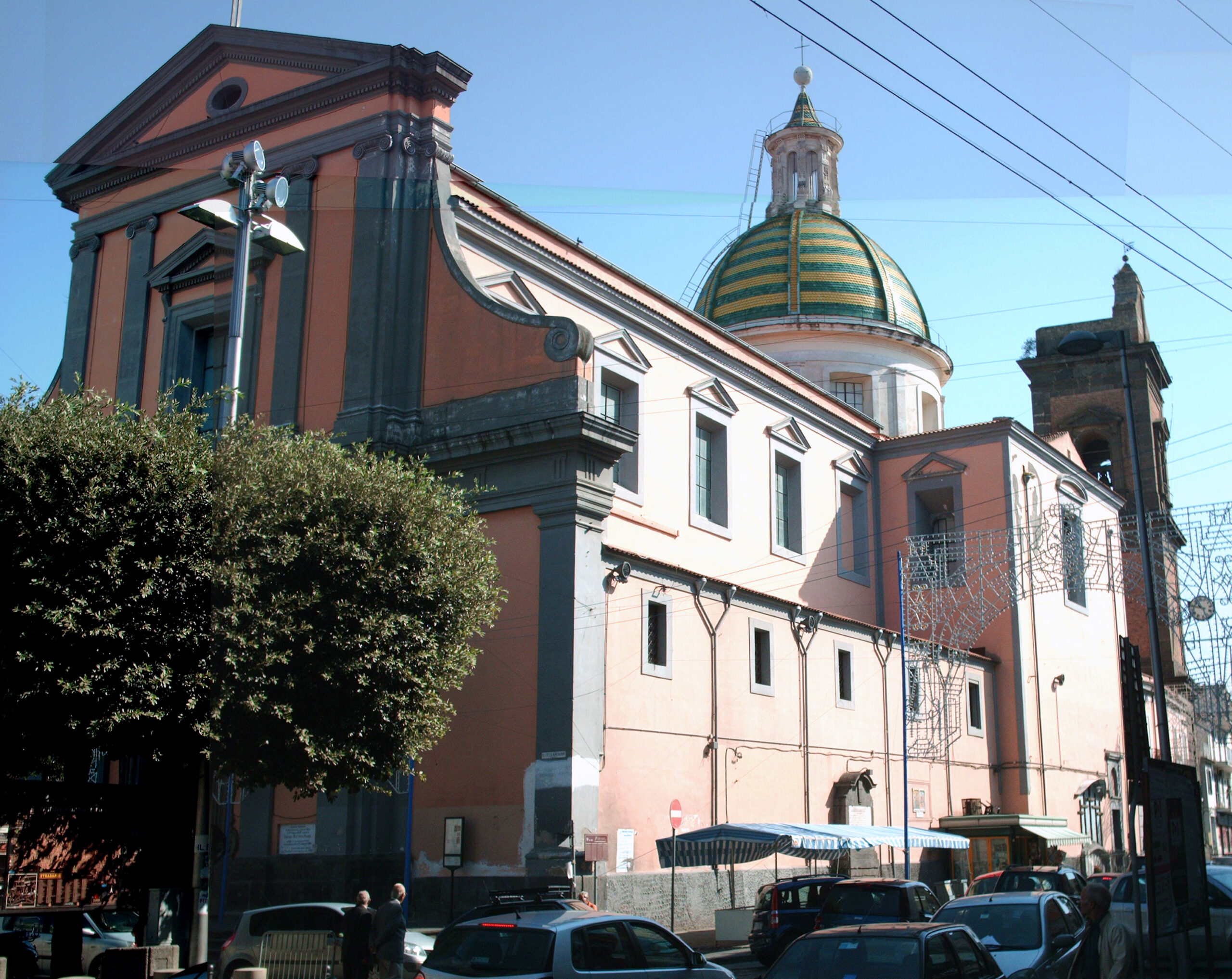 Covid, chiude la Chiesa di Santa Sofia a Giugliano