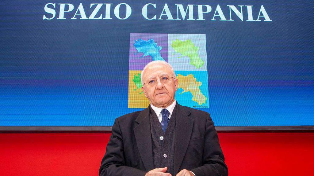 Emergenza covid, conferenza stampa del presidente della Regione Campania De Luca +++ SEGUI LA DIRETTA +++