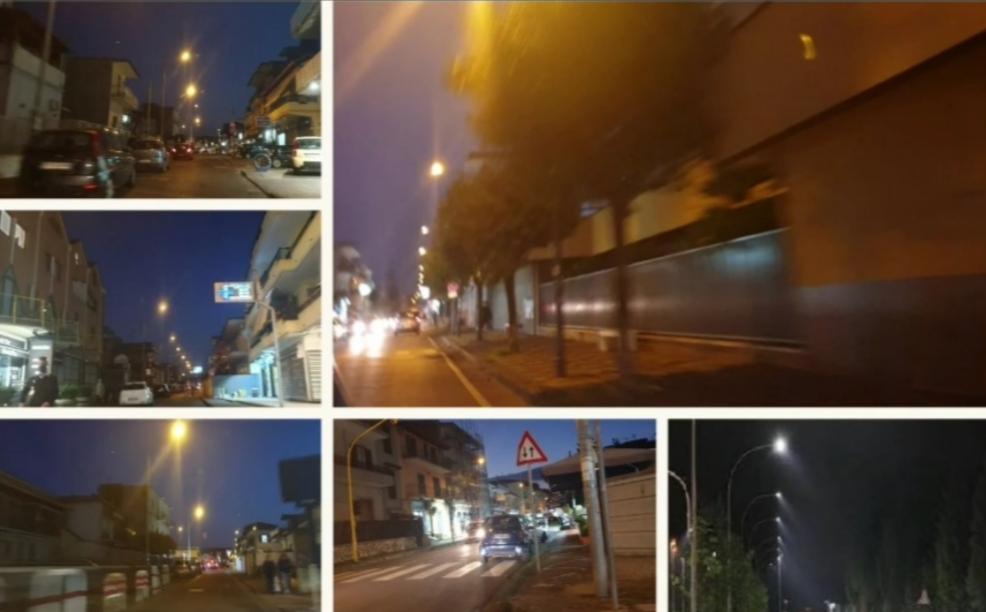 """Centro storico senza illuminazione pubblica, il sindaco: """"Manomesso l'intero servizio"""""""