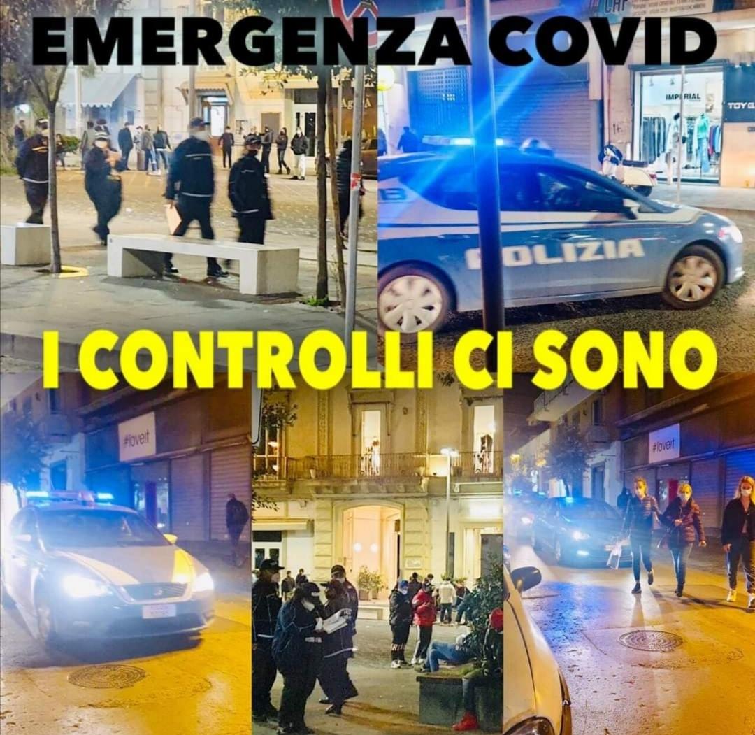 Covid: a Giugliano controlli di polizia, Municipale e Guardia di Finanza