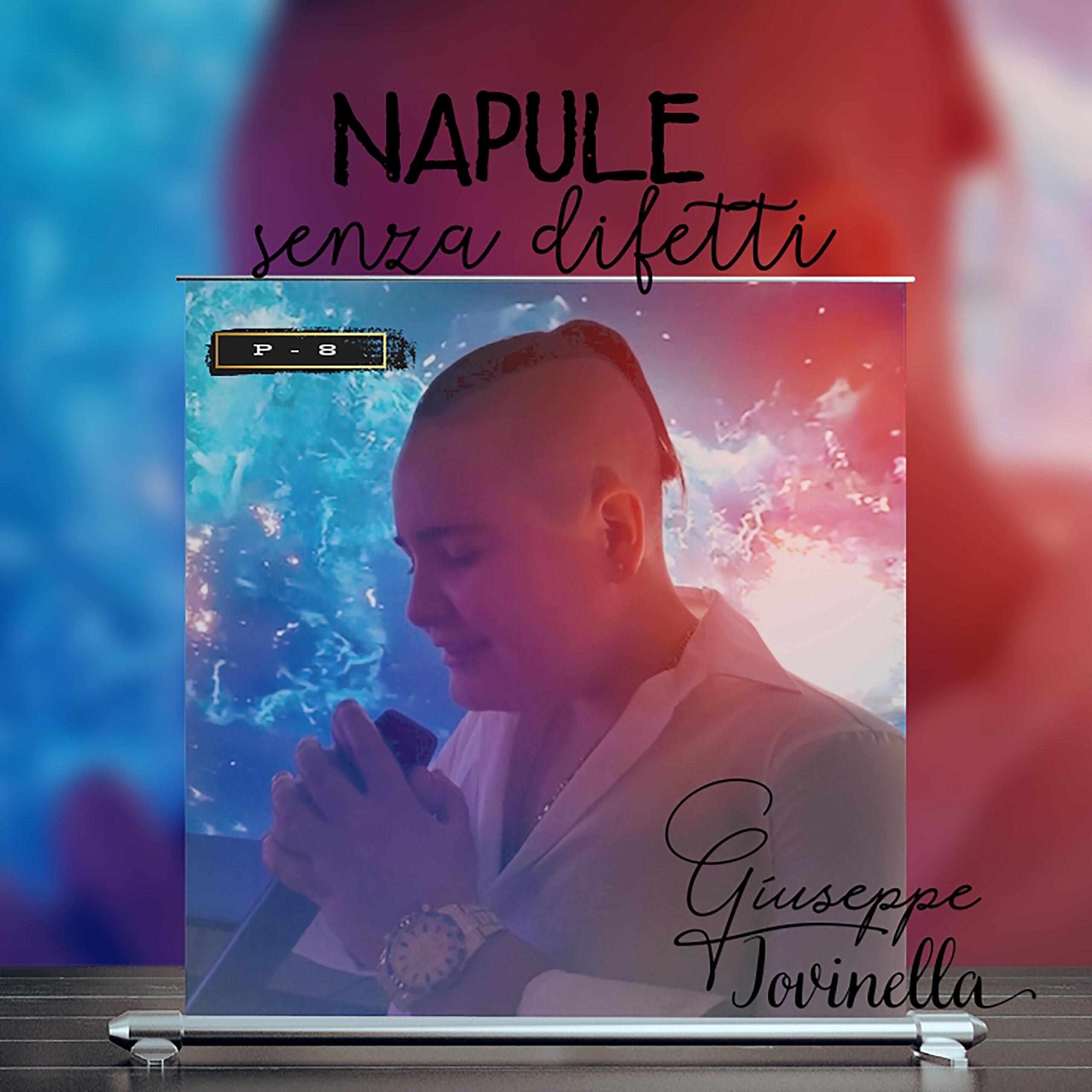 'Napule senza difetti', online il primo singolo di Giuseppe Pio Iovinella in arte P-8 GUARDA IL VIDEO