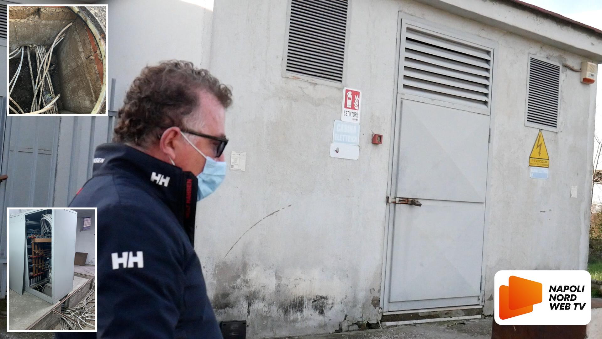 Raid alla zona Asi di Giugliano, furto di cavi elettrici nell'azienda Carafa: danni per 100mila euro VIDEO