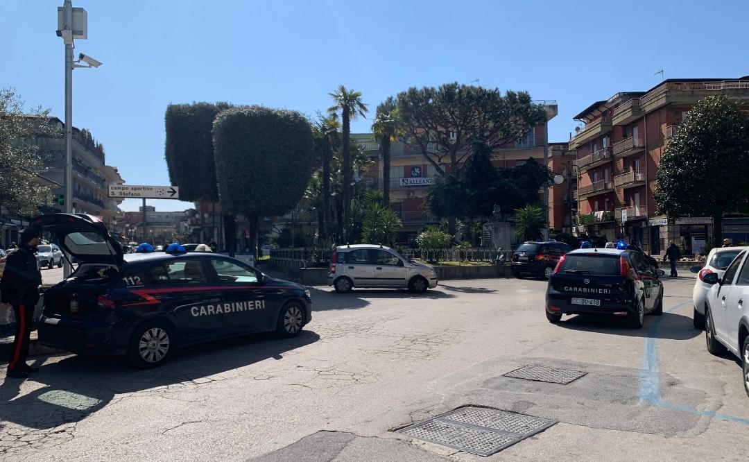 Controlli dei carabinieri a Qualiano, una persona in arresto e multe per oltre mille euro
