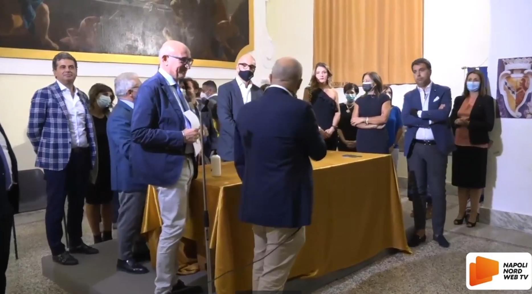 'Odcec 2.0': presentata la lista con il candidato alla presidenza dell'ordine dei Commercialisti di Napoli Nord Francesco Matacena VIDEO